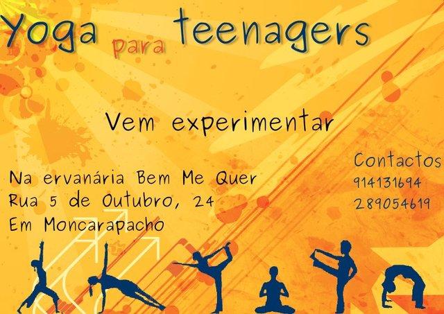 Yoga em Moncarapacho