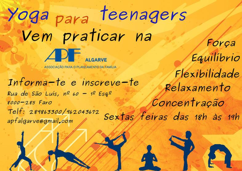 yoga para teenagers
