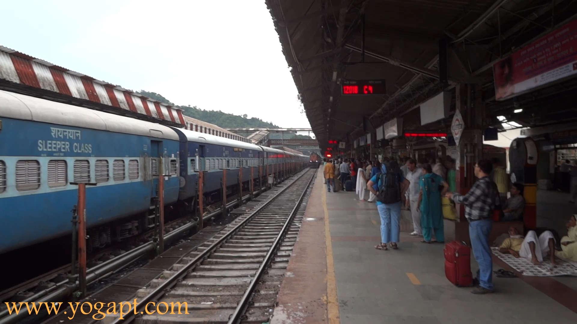 EStação de Comboios em Haridwar na Índia