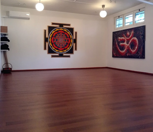 Centro Yoga Darshan sala de prática